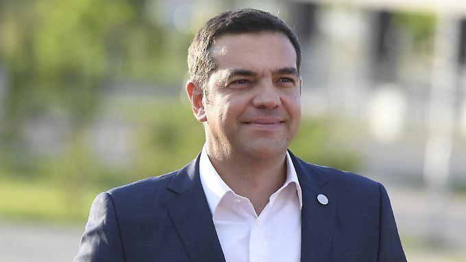 Voller Optimismus: Hellas werde wieder ein normales Land, sagt Regierungschef Alexis Tsipras.