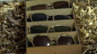 Sonnenbrillen aus Seegras: Start-up-Zentrum soll junge Menschen an Griechenland binden