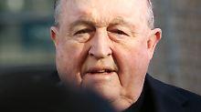 Sexuellen Missbrauch vertuscht: Richter verurteilen australischen Erzbischof
