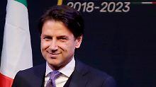 Person der Woche: Giuseppe Conte, Marionette der Populisten