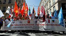 Neue Streikwelle in Frankreich: Fluglotsen drosseln den Reiseverkehr
