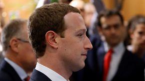 Enttäuschung im EU-Parlament: Zuckerberg wird kaum konkret