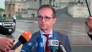 Antrittsbesuch in Washington: Maas gibt sich von US-Politik unbeeindruckt