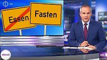 """""""Essen wird zu Fasten umbenannt"""": Ungarns Staats-TV fällt auf Satire herein"""