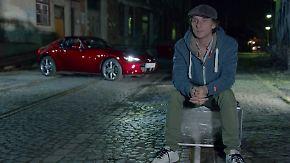 """""""Du, die Straße, die Lichter"""": Tim Schrick erobert im Mazda MX-5 RF München bei Nacht"""