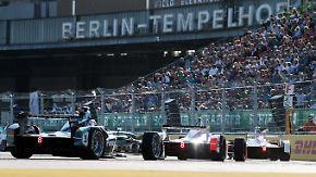 Vollelektrische Boliden mit Fan-Boost: Deutscher dominiert spektakuläre Formel-E in Berlin