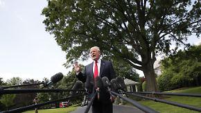 """Undefinierte """"Feindseligkeiten"""": Trump sagt Treffen mit Kim ab"""