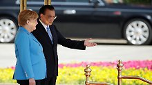 Trotz Misstönen: China sagt schrittweise Marktöffnung zu