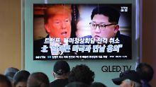Trump sagt Treffen mit Kim ab: Lieber kein Gipfel als ein schlechter