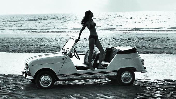 Renault 4 Plein Air wurde ab 1968 gebaut und war ein echtes Strandauto.