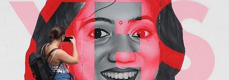 Savita Halappanavar, deren Abtreibung ihr verweigert wurde und die an den Folgen ihrer Schwangerschaft stab