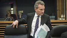 ESM nicht stark genug: Oettinger warnt Italiens neue Koalition