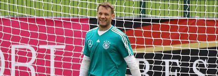 """""""Wenn er dabei sein wird, dann wird er sicherlich spielen"""": Manuel Neuer."""
