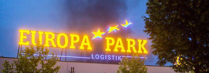 Ursache noch unklar: Feuer im Europapark gelöscht