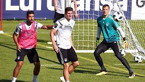"""Selbstvertrauen im WM-Trainingslager: Neuer, Khedira, Goretzka - """"Alle Positionen gut besetzt"""""""