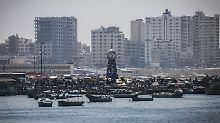 Palästinenser planen Protest: Israel errichtet Seebarriere zu Gaza