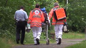 Heftige Unwetter in Teilen Deutschlands: Frau schwebt nach Blitzschlag in Lebensgefahr