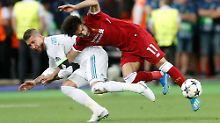 """Ramos hat Salah """"mit brutalen Mitteln"""" vom Platz gejagt."""
