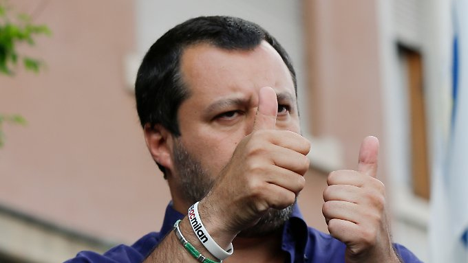 Auf Konfrontationskurs: Lega-Chef Matteo Salvini.
