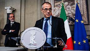 Populisten-Allianz gescheitert: Italien bekommt Technokratenregierung