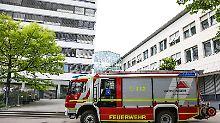 Vorfall in Göppingen: Abgelehnter Asylbewerber setzt sich in Brand