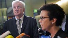 Aussage im Innenausschuss: Seehofer entschuldigt sich für Bamf-Skandal
