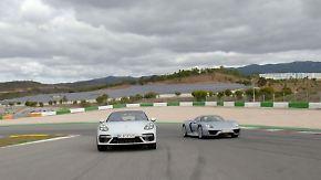 """918 Spyder und Panamera im Test: Tim Schrick bleibt in Porsche-Hybriden """"die Spucke weg"""""""