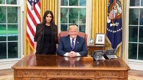 Zwei Reality-Stars im Weißen Haus: Kim Kardashian auf ungewöhnlicher Mission