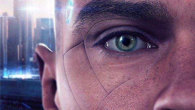 """""""Detroit: Become Human"""" entführt den Spieler in eine faszinierende Zukunftswelt, in der Androiden ihre Menschlichkeit entdecken."""