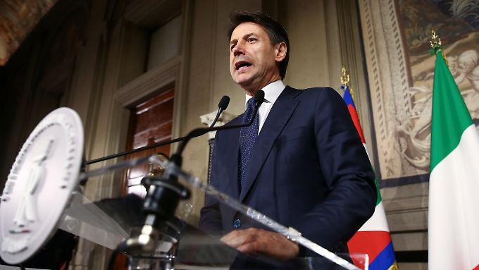 Giuseppe Conte soll der neuen Regierung vorstehen.