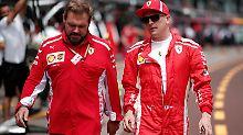 Der Sport-Tag: Frau versucht offenbar Ferrari-Star Räikkönen zu erpressen
