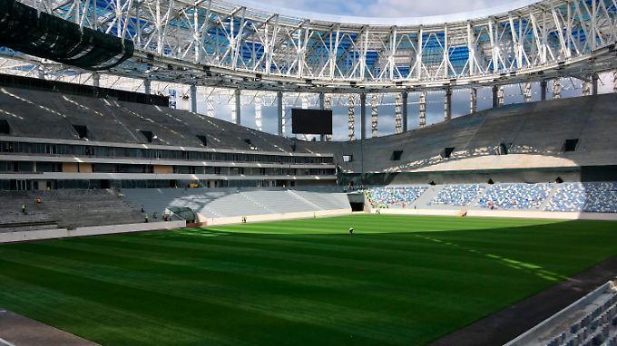 Die WM-Stadien im Porträt: Nischni-Nowgorod-Stadion