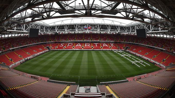 Die WM-Stadien im Porträt: Spartak-Stadion in Moskau