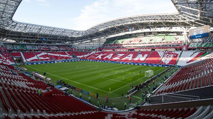 Die WM-Stadien im Porträt: Kasan-Arena