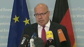 """Reaktionen auf Strafzölle: Altmaier nennt US-Entscheidung """"falsch und schädlich"""""""