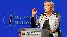 Le Pen setzt Erneuerung fort: Front National hat neuen Namen