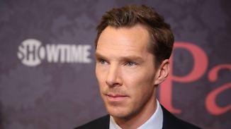 Promi-News des Tages: Benedict Cumberbatch rettet Fahrradkurier vor Überfall