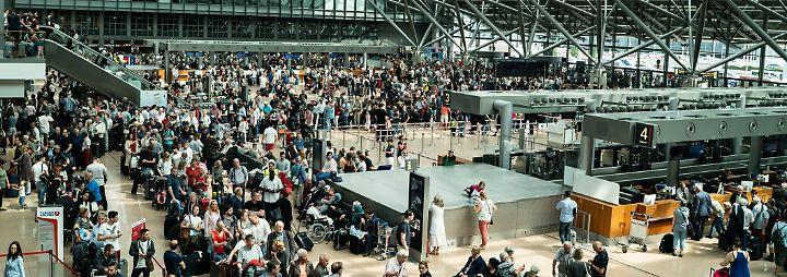 Stromausfall am Airport Hamburg: Am Flughafen ist es zappenduster
