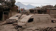 Naturkatastrophe in Guatemala: Zahl der Opfer nach Vulkanausbruch steigt