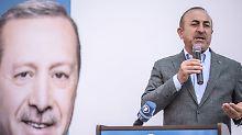Türken in Deutschland: Cavusoglu erwartet viele Erdogan-Wähler