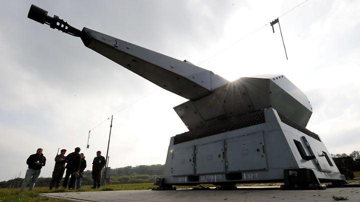 Das hochautomatisierte Flugabwehrsystem Mantis kommt seit Anfang des Jahres in Mali zum Einsatz.