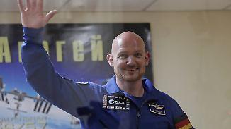 Gerst vor historischer Mission: Deutscher ISS-Kommandant verabschiedet sich gen All