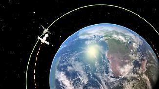 Präzisionsarbeit bei Höchstgeschwindigkeit: So verläuft Gersts Reise zur ISS