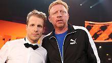 """""""Halte einfach deine Klappe"""": Boris Becker und Oliver Pocher fetzen sich"""