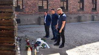 Nach Echo-Skandal: Farid Bang und Kollegah besuchen Auschwitz