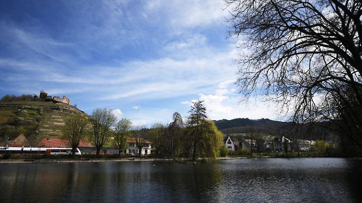 Im Stadtsee von Staufen hatte Christian L. Beweismittel versenkt.