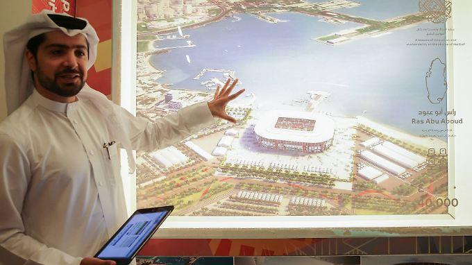Groß wird die WM in Katar ohnehin schon. Noch größer soll sie nun aber wohl nicht werden.
