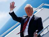 Irrlichternder US-Präsident: Trump wird vor Krieg nicht zurückschrecken