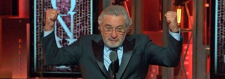 """Stehende Ovationen: DeNiro: """"Fuck Trump!"""""""