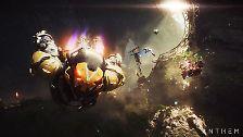 """Den Anfang machten Electronic Arts und warteten am Samstag gleich mit mehreren Blockbuster-Titeln auf. Da wäre zum einen """"Anthem"""", ein Action-Rollenspiel aus dem Hause Bioware, das..."""